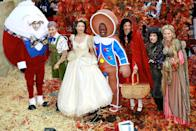 <p>Jumping right into an enchanting story book, 2008 was all about bringing your childhood to life with some amazing costumes and a few prosthetics. From left to right, Meredith Vieira dressed up as the fibbing Pinocchio displaying an especially long nose, Ann Curry went to the party as Cinderella, Al Roker posed in a gumdrop-adorned gingerbread man getup while Hoda Kotb and Kathie Lee Gifford played Little Red Riding Hood and the Wolf, along with Amy Robach as Rapunzel. </p>