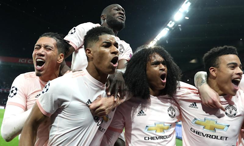Champions League Man United S Comeback Stuns Psg