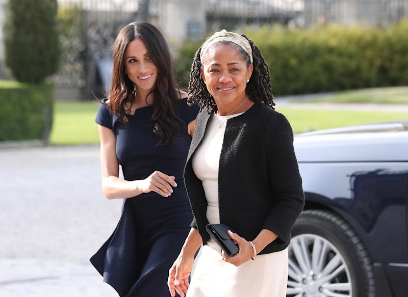 Meghan Markle's Mother Could be Spending Christmas With Royal Family