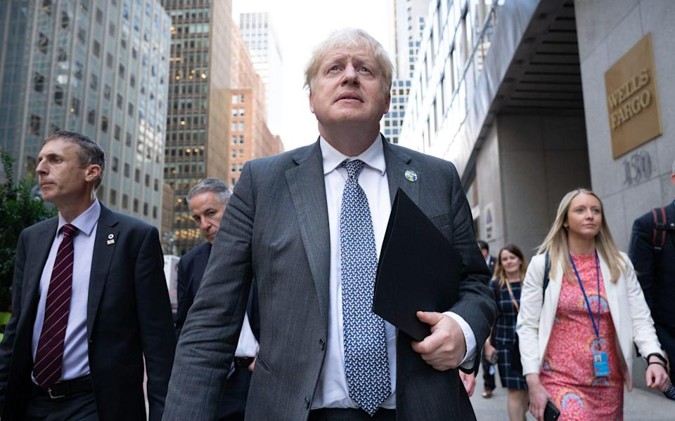 Boris Johnson: 'I have quite a lot of experience of American negotiations, and they are pretty ruthless.' - PA