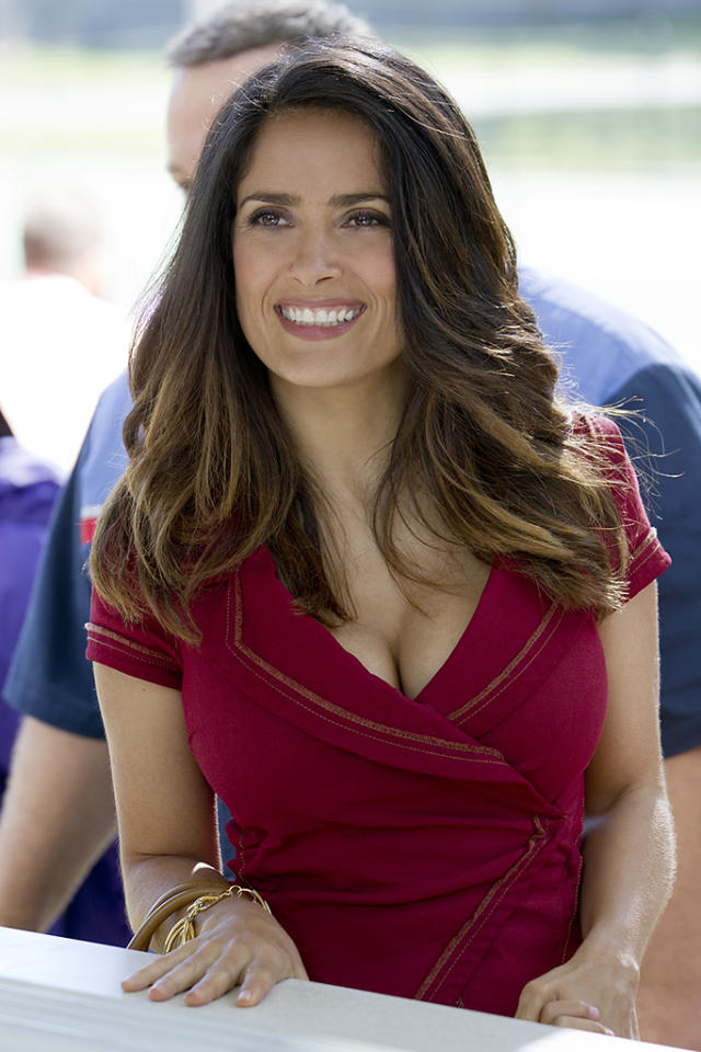 Roxanne Feder (Salma Hayek) in Columbia Pictures' GROWN UPS 2.