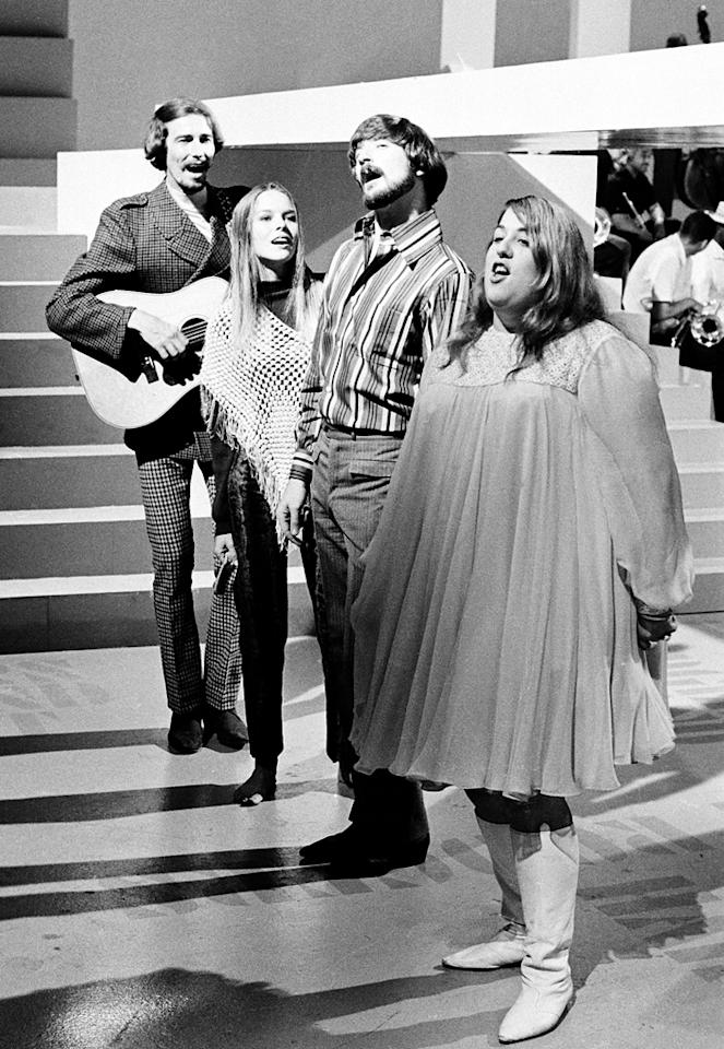 """The Mamas & The Papas Having grown tiresome of the name """"The Magic Cyrcle,"""" the band was searching for a new name. While watching a television interview with some Hell's Angels motorcycle club members, one biker said how they called their women """"mamas."""" Band members Cass Elliot and Michelle Phillips loved """"The Mamas,"""" and naturally Denny Doherty and John Phillips settled on being the """"The Papas."""""""