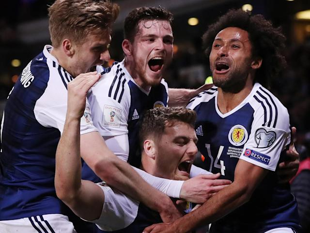 Scotland's win against Slovenia gives them hope (Getty)