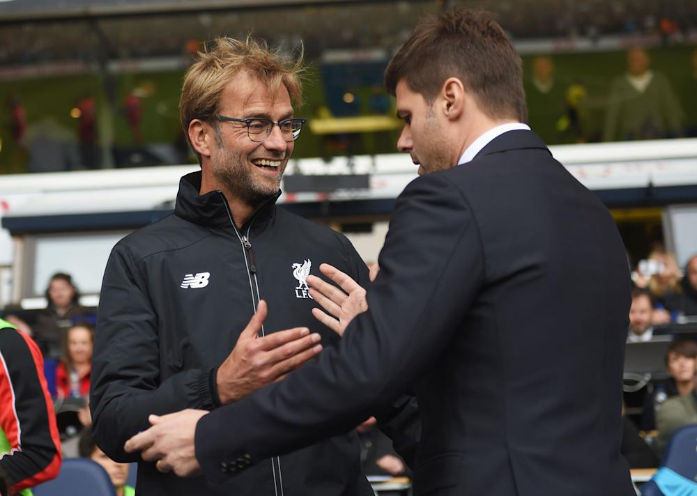 Jurgen Klopp and Mauricio Pochettino