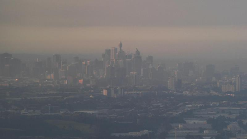 Sydney's air quality is slowly improving as a smoke haze continues to linger over parts of the city.