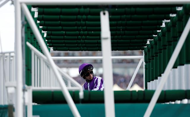 Horse Racing - Royal Ascot - Ascot Racecourse, Ascot, Britain - June 21, 2018 Jockey Donnacha O'Brien before the start of the 3.40 Ribblesdale Stakes Action Images via Reuters/Andrew Boyers