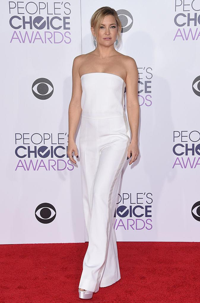 Kate Hudson rocks a Stella McCartney jumpsuit in 2016 (Photo: Getty Images)
