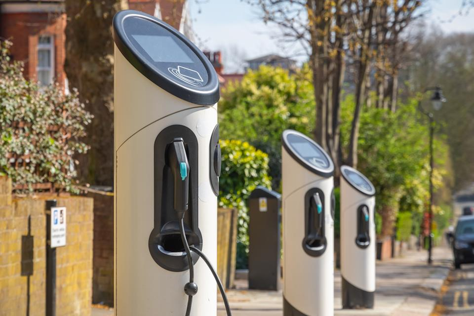The UK currently has almost 20,000 chargepoints, up from around 1,500 in 2011. Photo: Getty Images