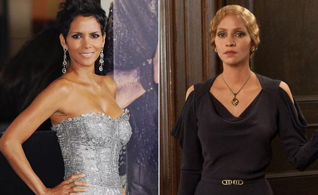 "Halle Berry (who plays six characters) in ""Cloud Atlas"""