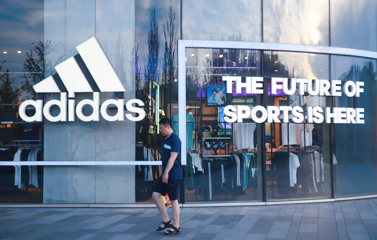 Use code WEEKEND to save 30% off sitewide at Adidas. (Photo credit should read Costfoto/Barcroft Media via Getty Images)