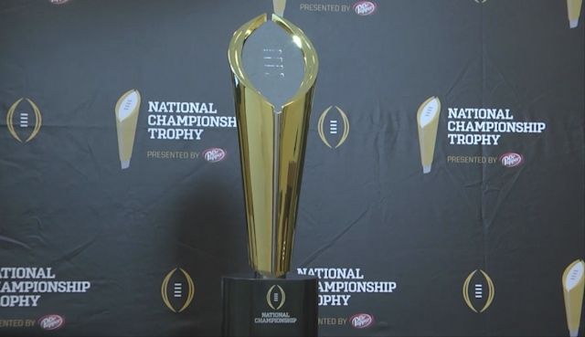 The wait is over. We've seen the College Football Playoff Trophy for the first time. Campus Insiders' Ray Crawford, Doug Chapman and Pete Fiutak give you instant reaction to the trophy every player will strive for.