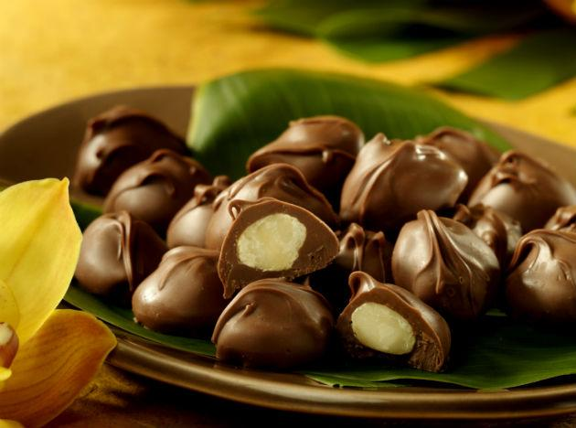 Try some chocolate! The next time you're feeling low, treat yourself to some chocolate. This sweet stuff boosts endorphin levels, the brain's natural happy hormones. So eat 'em and feel happy!