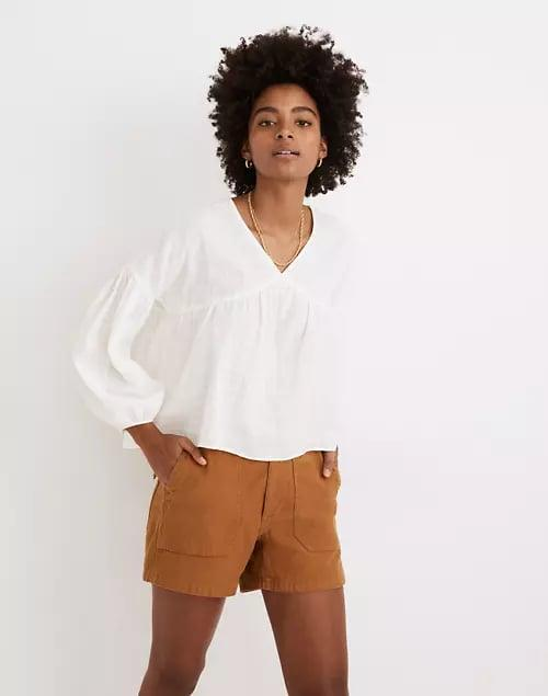 <p>Summer heat is no match for this <span>Madewell Monterey Top</span> ($75).</p>