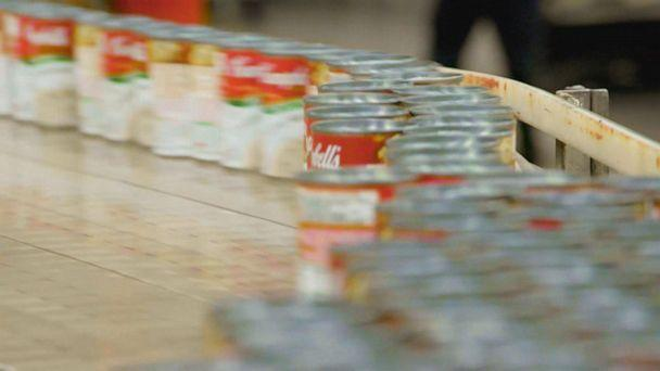 VIDEO: Food manufacturers up production to avoid grocery shortages (ABCNews.com)