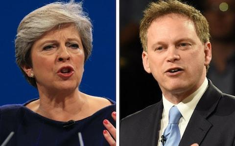 <span>Tory MP Grant Shapps said earlier today that privately some Cabinet ministers have agreed that the prime minister should go</span>