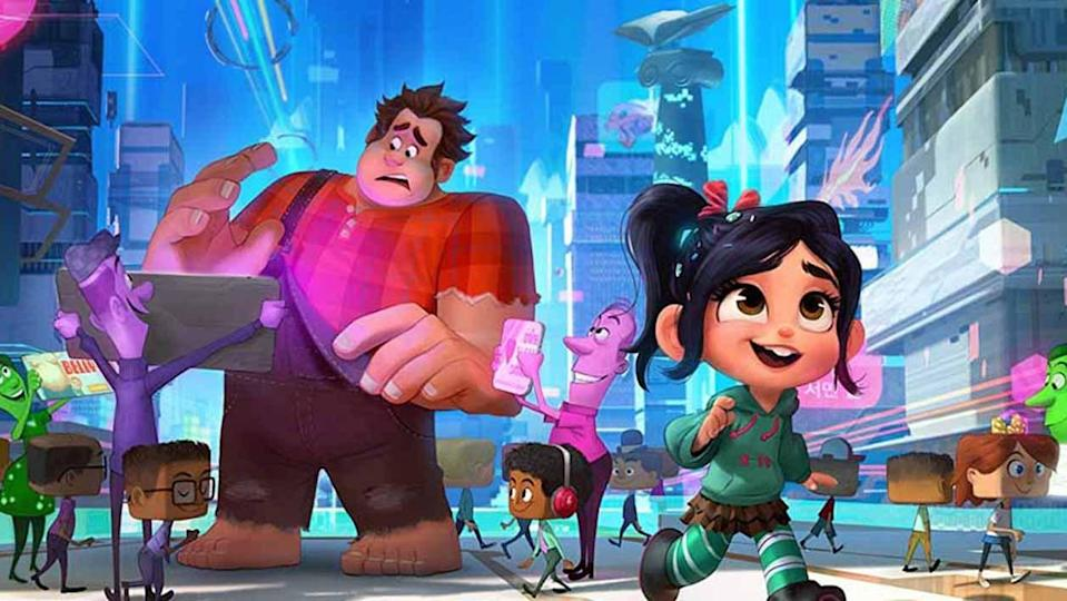 Vanellope's narrative was nearly a lot darker in Ralph Breaks the Internet