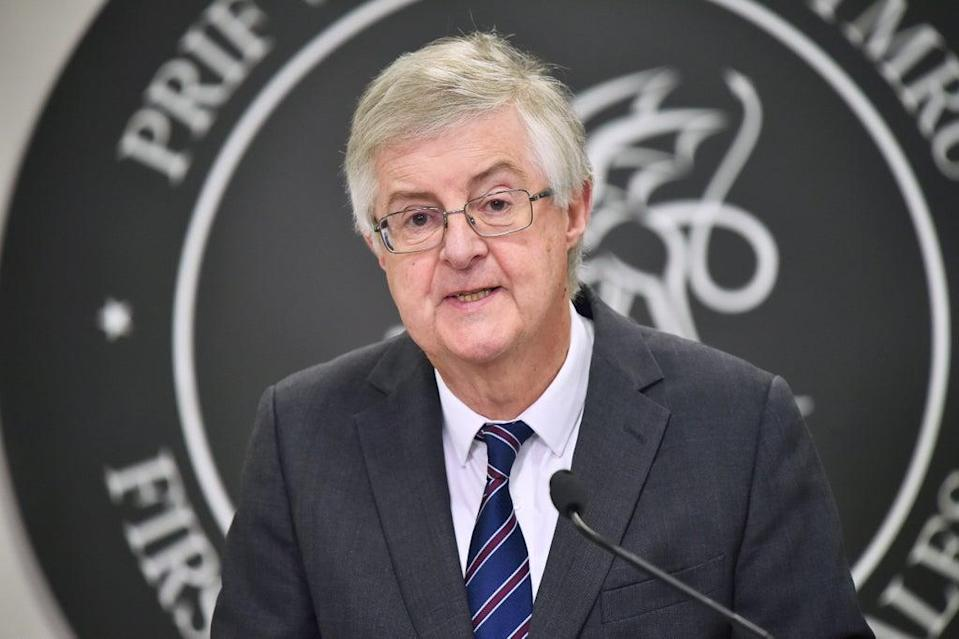 First Minister Mark Drakeford said people will have to prove they have been vaccinated to gain access to nightclubs and large events from next month (PA) (PA Archive)