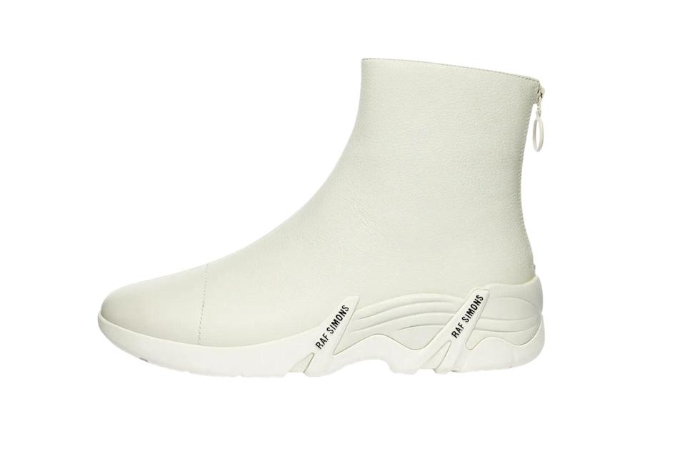 "$505, End Clothing. <a href=""https://www.endclothing.com/us/raf-simons-cylon-leather-sneaker-boot-202-986a-0003.html"" rel=""nofollow noopener"" target=""_blank"" data-ylk=""slk:Get it now!"" class=""link rapid-noclick-resp"">Get it now!</a>"