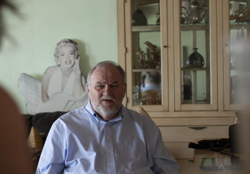 Thomas Markle comes after his daughter and the royal family in a scathing new documentary for which he sold tons of never-before-seen photos and videos of the duchess. (Photo: Channel 5 Broadcasting Limited)
