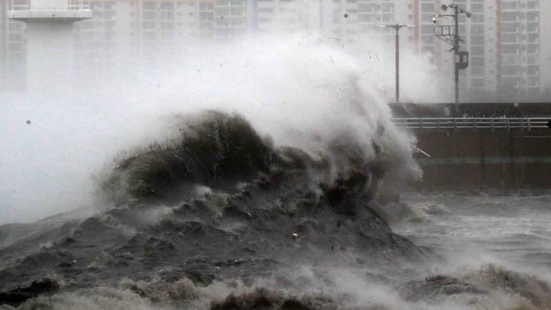 Typhoon Haishen hits South Korea after battering Japan's southern islands