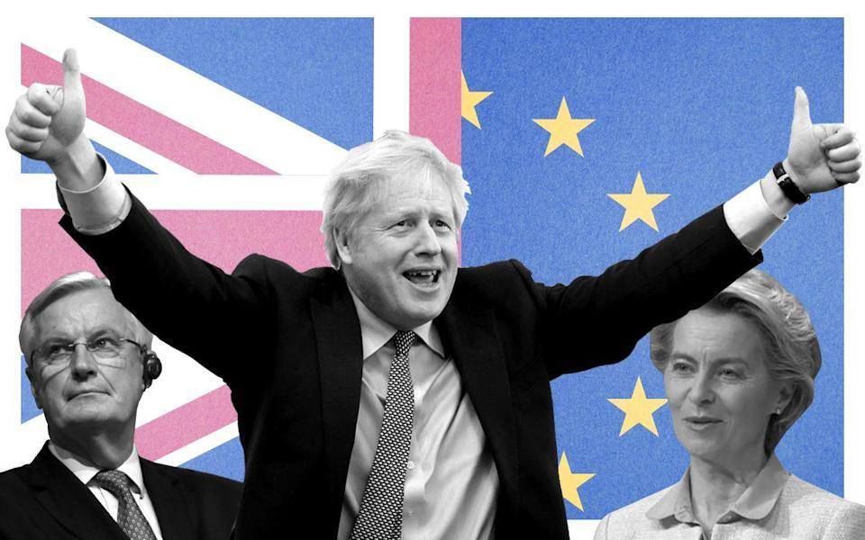 Boris Johnson and Ursula von der Leyen have agreed a Brexit deal that will take effect on January 1 2021