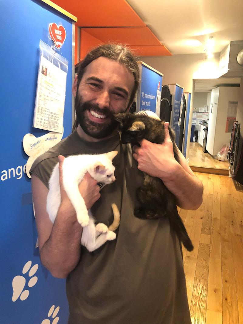 Queer Eye's Jonathan Van Ness Adopts 2 Kittens Days After Cat's Tragic Death