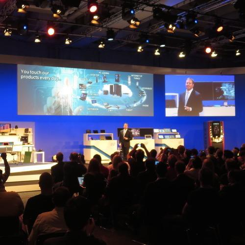 Intel presentation at CES
