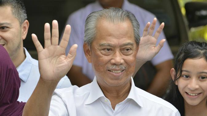 Muhyiddin Yassin (John Shen Lee / AP PHOTO)