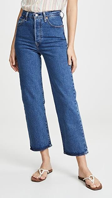 """<h2>Levi's Ribcage Straight Ankle Jeans</h2><br>""""Word on the street is that jeans are about to make their big comeback this fall. In anticipation of that, I've decided to freshen up my existing denim stock with a new classic cut from Levi's. I already own (and swear by) a pair of the brand's <a href=""""https://www.shopbop.com/wedgie-icon-jeans-levis/vp/v=1/1565198176.htm"""" rel=""""nofollow noopener"""" target=""""_blank"""" data-ylk=""""slk:iconic Wedgies"""" class=""""link rapid-noclick-resp"""">iconic Wedgies</a> but have yet to try the Ribcage Straight Ankle — and, this here true-blue Georgie colorway is speaking to me."""" <em>– Elizabeth Buxton, Deputy Director</em><br><br><em>Shop <a href=""""https://www.shopbop.com/levis/br/v=1/11096.htm"""" rel=""""nofollow noopener"""" target=""""_blank"""" data-ylk=""""slk:Levi's at Shopbop"""" class=""""link rapid-noclick-resp"""">Levi's at Shopbop</a></em><br><br><strong>Levi's</strong> Ribcage Straight Ankle Jeans, $, available at <a href=""""https://go.skimresources.com/?id=30283X879131&url=https%3A%2F%2Fwww.shopbop.com%2Fribcage-straight-ankle-levis%2Fvp%2Fv%3D1%2F1568405765.htm"""" rel=""""nofollow noopener"""" target=""""_blank"""" data-ylk=""""slk:Shopbop"""" class=""""link rapid-noclick-resp"""">Shopbop</a>"""