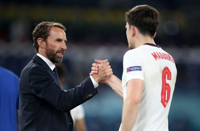 It was a job well done for Southgate and his players