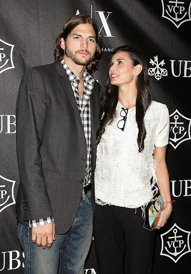 """<em>Star</em> reports that soon-to-be exes Demi Moore and Ashton Kutcher actually had an """"open marriage."""" The mag notes, """"Everyone in Hollywood knows about their arrangement, but they've managed to keep it a secret from the general public."""" For how Kutcher's fling with Sara Leal violated their rules, and more shocking details on their open marriage, see what a Moore friend now reveals to <a target=""""_blank"""" href=""""http://www.gossipcop.com/demi-moore-ashton-kutcher-open-marriage-flings-cheating/"""">Gossip Cop.</a>"""