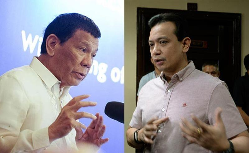 Duterte turns tables on Trillanes, accuses senator of 'hidden wealth'