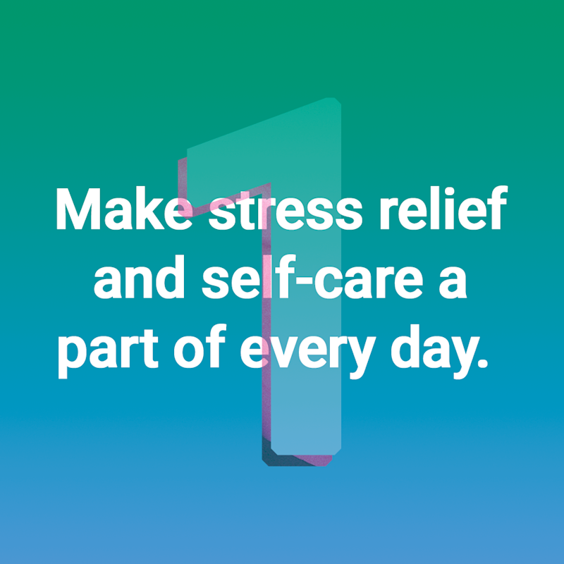 Stress relief quote