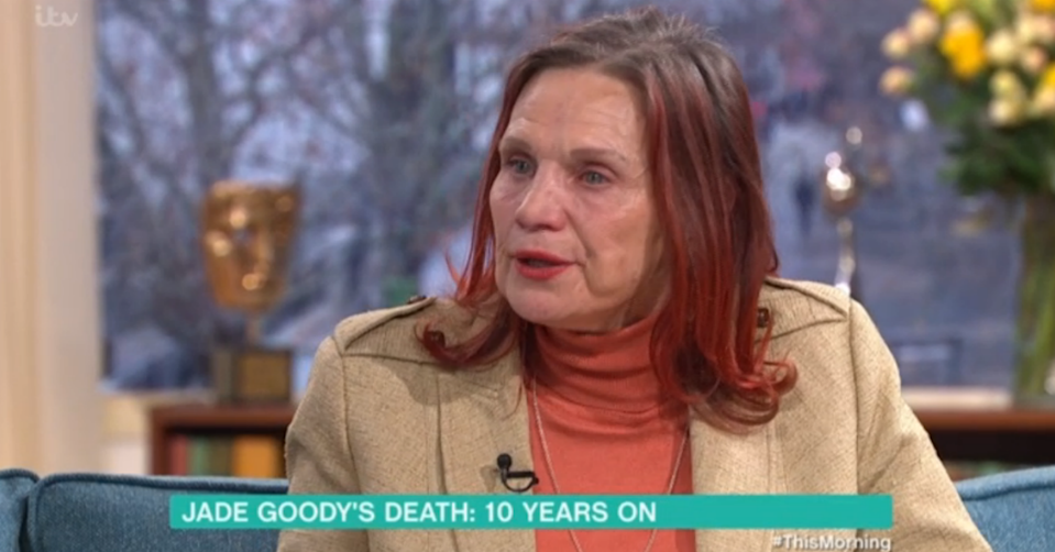 Jackie Goody opened up about her late daughter on This Morning (ITV Pictures)