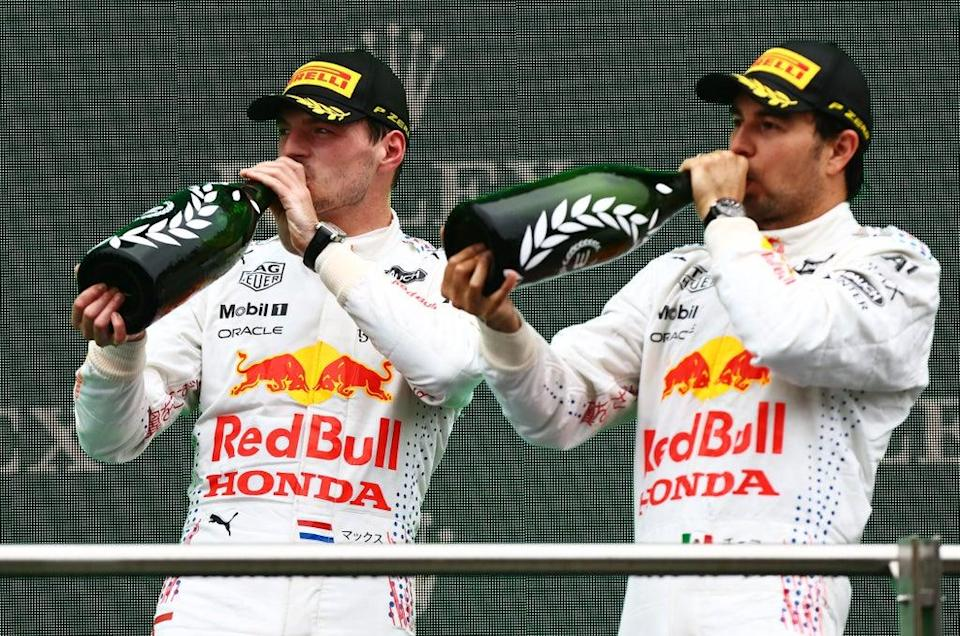 It was a good day for Red Bull. (Getty Images)