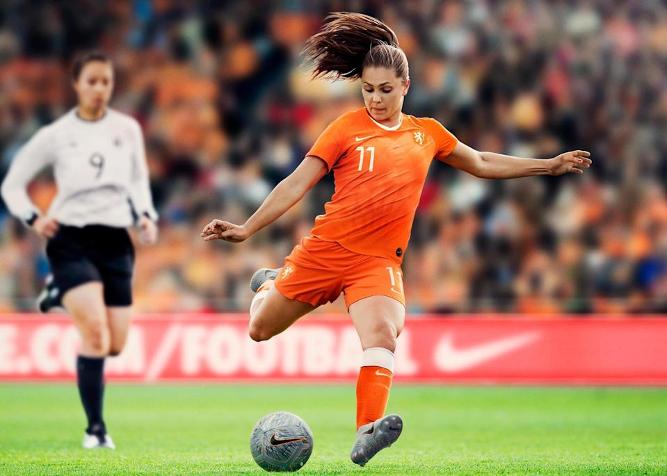 <p>The Netherlands' 2019 home kit relays a retro Oranje vibe, but with a contemporary, female-focused twist. </p>