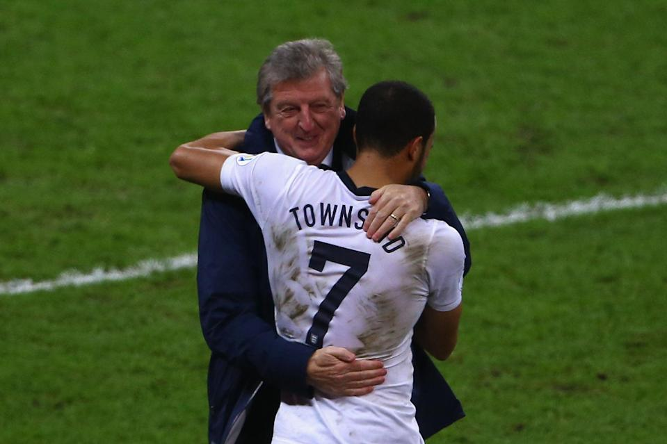 Andros Townsend made his England debut under Roy Hodgson, and played 139 times for his Crystal Palace sideThe FA via Getty Images