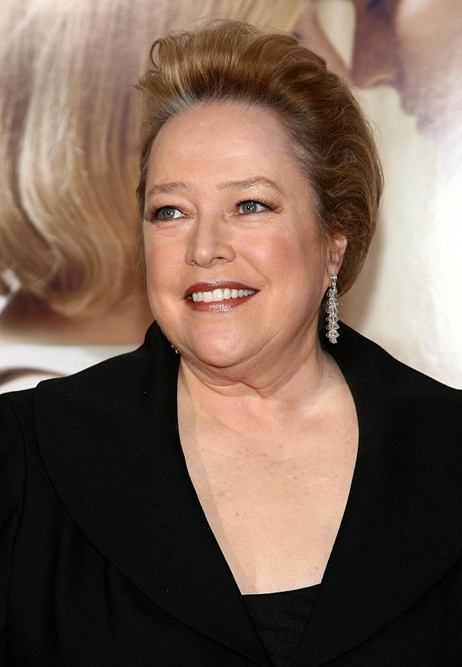 """<a href=""""http://movies.yahoo.com/movie/contributor/1800024073"""">Kathy Bates</a> at the Los Angeles premiere of <a href=""""http://movies.yahoo.com/movie/1809883886/info"""">Revolutionary Road</a> - 12/15/2008"""