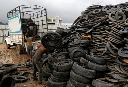 Trading tyres: How the West fuels a waste crisis in Asia