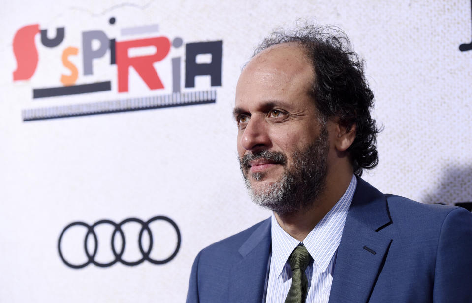 "Luca Guadagnino, director of ""Suspiria,"" poses at the premiere of the film at the ArcLight Hollywood, Wednesday, Oct. 24, 2018, in Los Angeles. (Photo by Chris Pizzello/Invision/AP)"