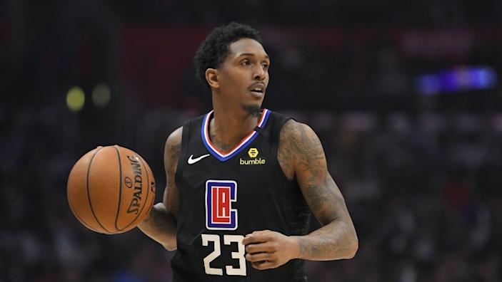 Lou Williams Must Quarantine for 10 Days After Strip Club Visit