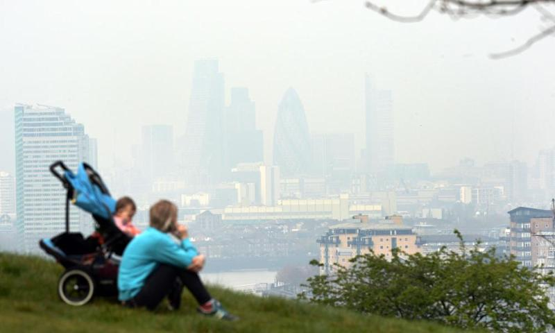 Air pollution levels in London outstrip legal limits, and it is worsening as temperatures rise.