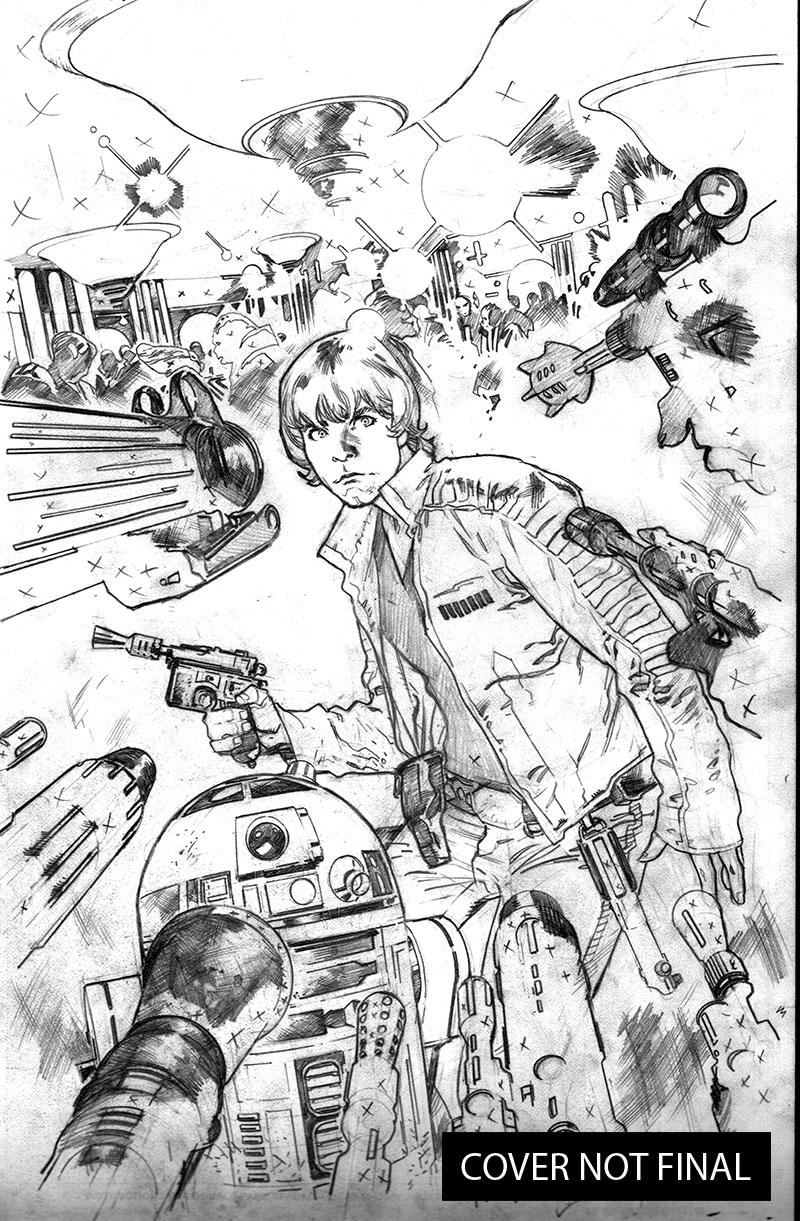 new ongoing star wars artist revealed Star Fox Assault Arwing star wars after issue 6 that left the big question who is taking over the art duties marvel has just announced who the new artist will be as of