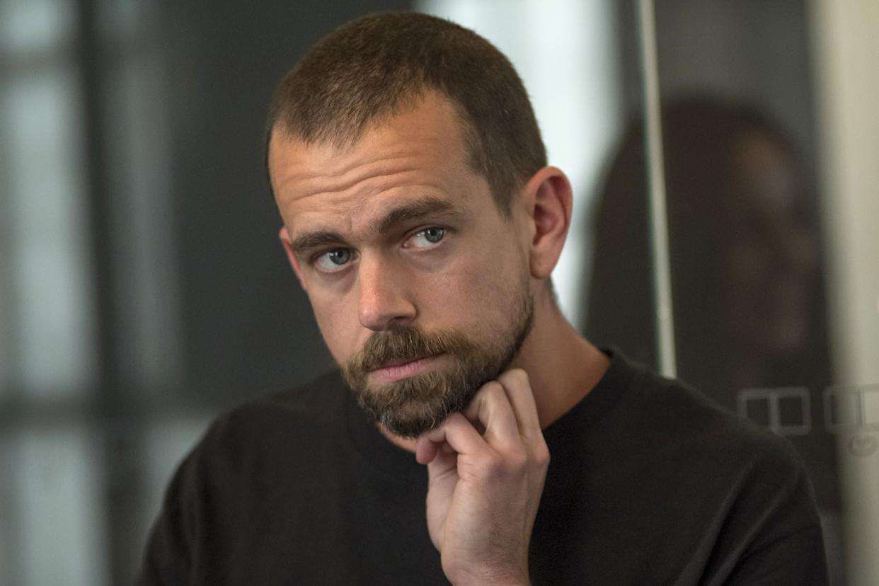 Twitter CEO Jack Dorsey has balked at banning Alex Jones from the site. (Photo: Bloomberg via Getty Images)