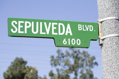 steet sign los angeles
