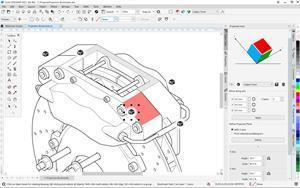 CorelDRAW Technical Suite 2021 users can now enjoy a more streamlined technical illustration workflow with the ability to pin custom perspective settings on their illustration for easy use at a later time.