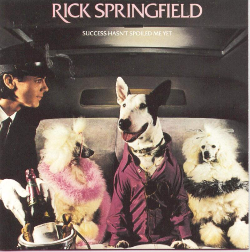 Rick Springfield's 'Success Hasn't Spoiled Me Yet' album, 1982 (Photo: RCA Records)