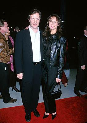 """Premiere: <a href=""""/movie/contributor/1800025332"""">Lasse Hallstrom</a> and <a href=""""/movie/contributor/1800014009"""">Lena Olin</a> at the Beverly Hills premiere of Miramax Films' <a href=""""/movie/1804361439/info"""">Chocolat</a> - 12/11/2000<br><font size=""""-1"""">Photo by <a href=""""http://www.wireimage.com"""">Sam Levi/WireImage.com</a></font>"""