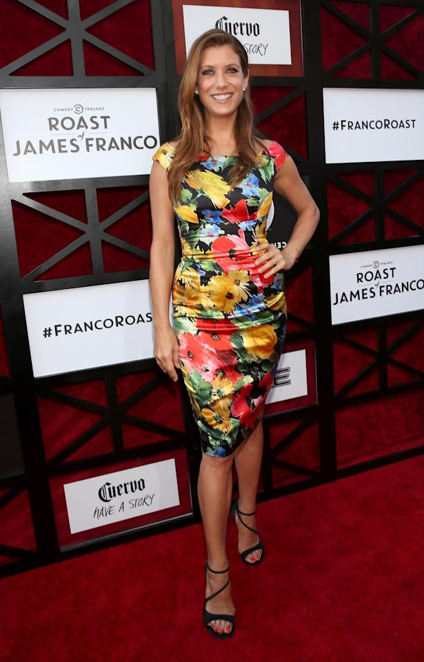 "Kate Walsh attends ""The Comedy Central Roast of James Franco"" at Culver Studios on August 25, 2013 in Culver City, California."