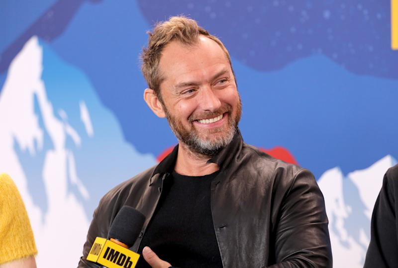 Jude Law of 'The Nest' attends the IMDb Studio at Acura Festival Village on location at the 2020 Sundance Film Festival – Day 3 on January 26, 2020 in Park City, Utah. (Photo by Rich Polk/Getty Images for IMDb)